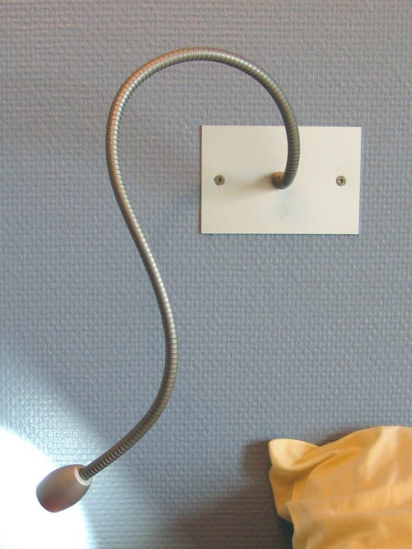 reading lamp LED flexible wall without switch