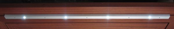 led-profiel 990mm lengte met 4 led's