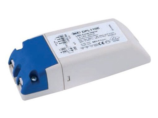 LED power supply 350mA for  1 up to 9 LEDs in series connection. DPL110 QLT.