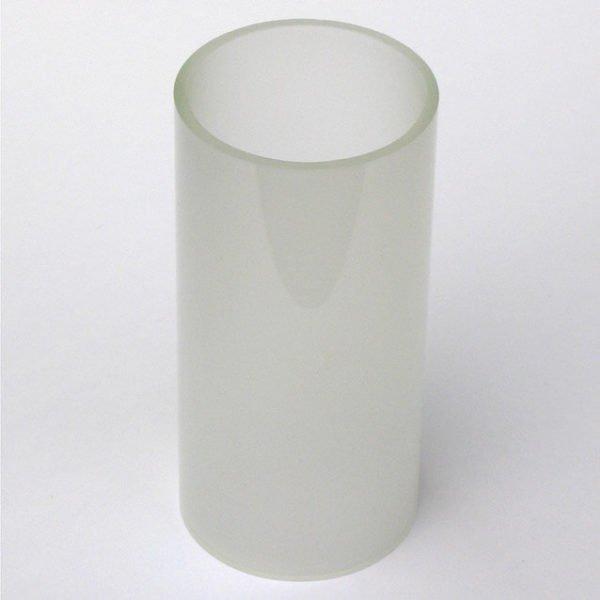 opaal glas large westhinder voor tuinverlichting diameter 60 x 124 mm hoogte