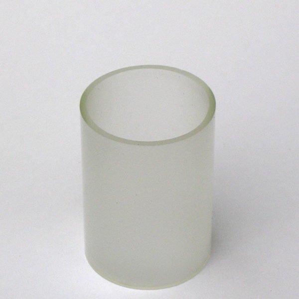 opaal glas medium westhinder voor tuinverlichting diameter 60 x 84 mm hoogte