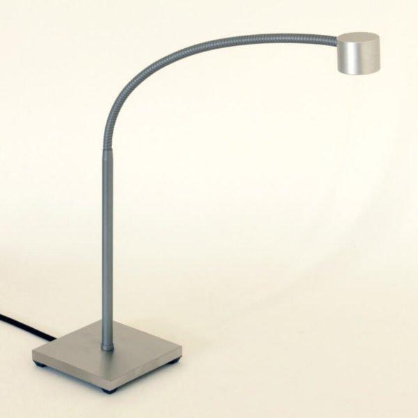 bureaulamp met voet flexible met vast onderstuk