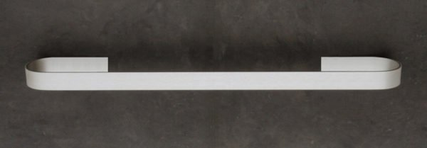 handdoekhouder 50 cm aluminium gekleefd op wand