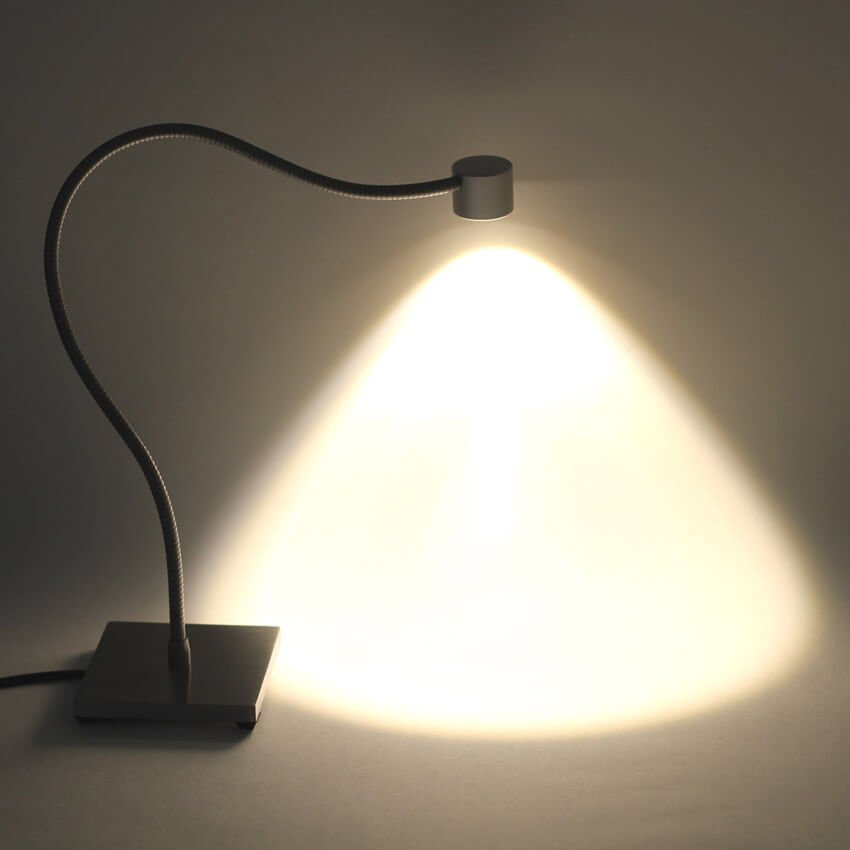 Desk Lamp With Flexible And Base Lio Table
