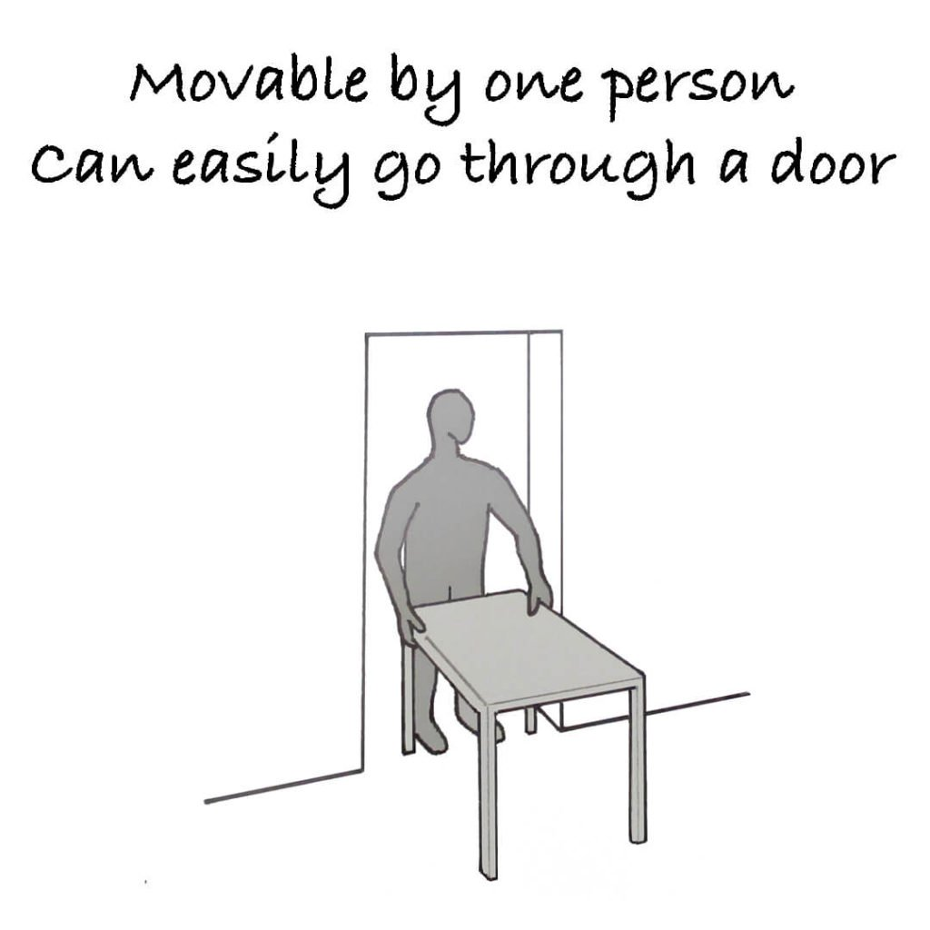 Movable-door