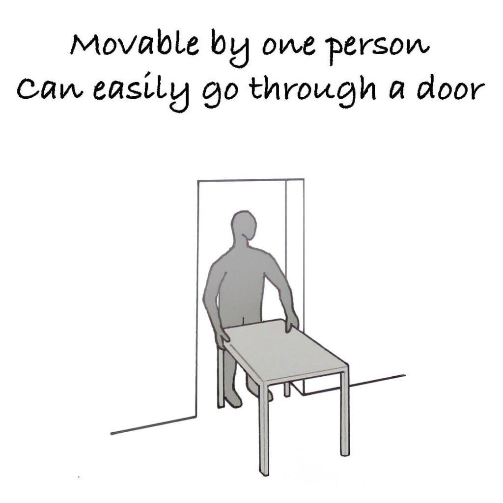 Movable-door